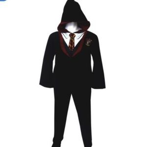Other - Gryffindor House Uniform Hooded Footie Pajamas